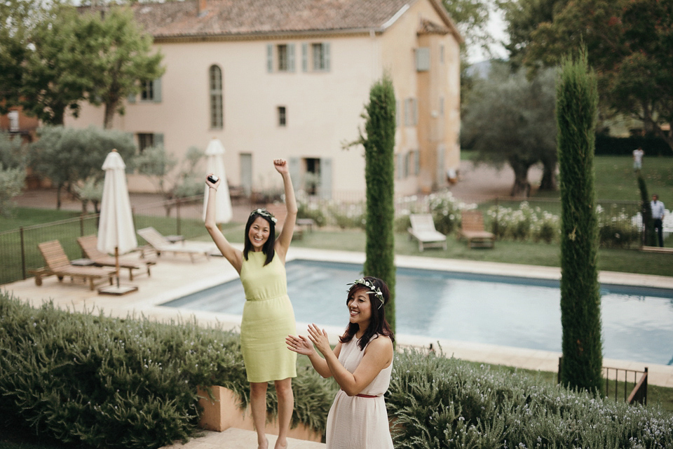 A First Look for an Elegant and Intimate South of France Chateau Wedding (Weddings )