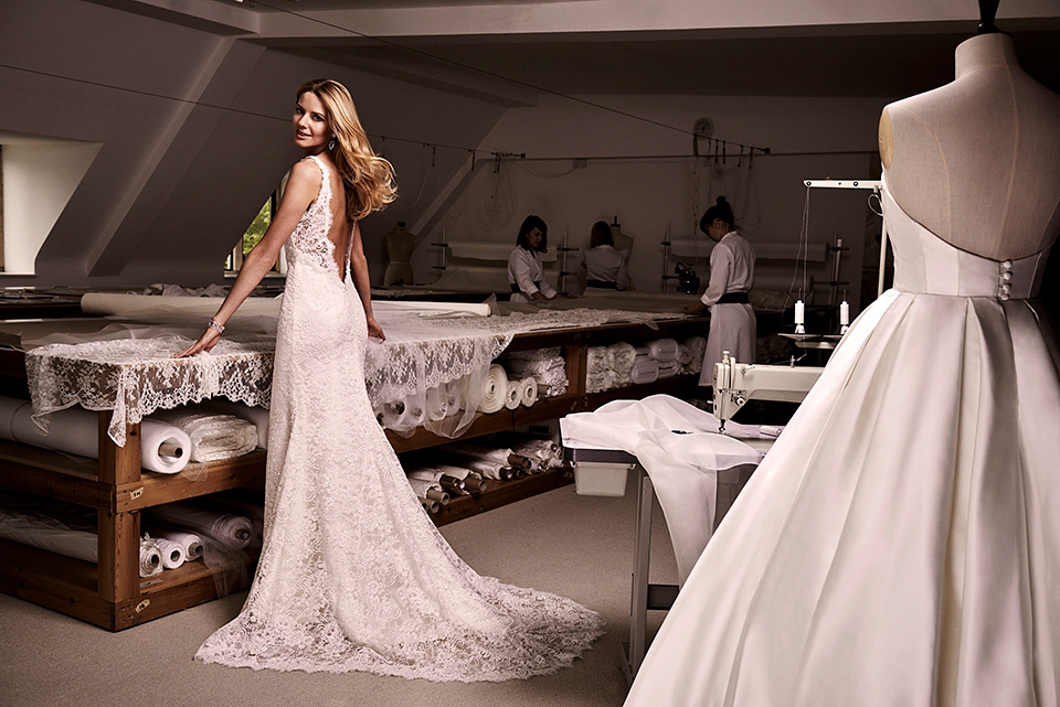 Effortless Glamour – Wedding Gowns By Caroline Castigliano