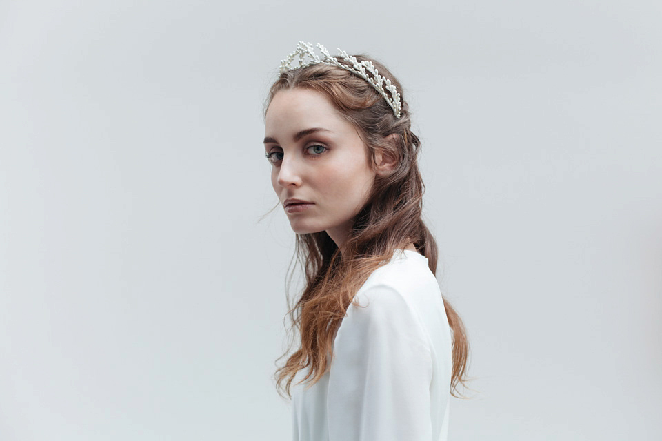 'Meadowsweet' by Blackbirds Pearl – A Sublime New Collection of Bridal Headpieces and Hair Accessories