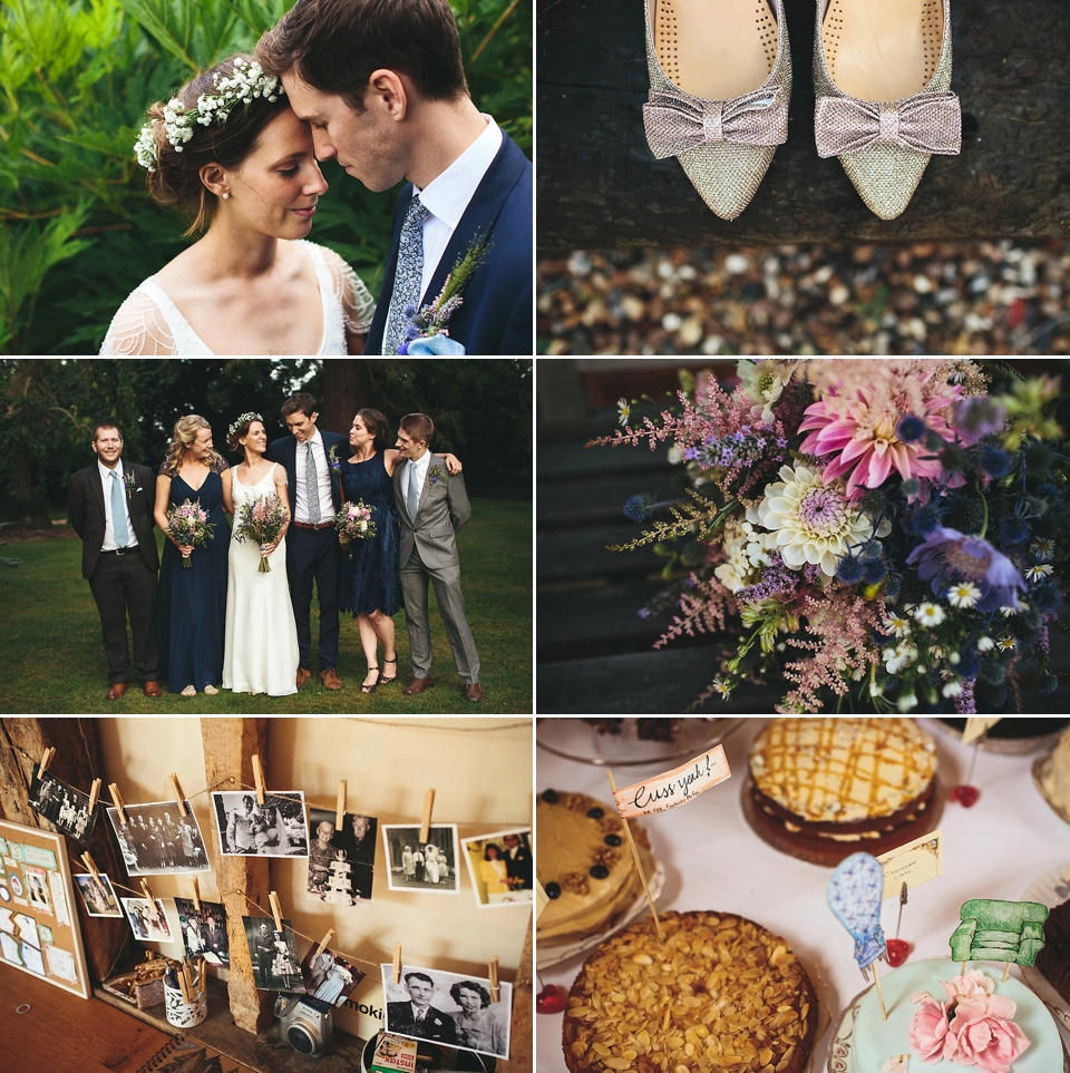 A Monsoon Bride and her Cloud Inspired English Garden Party Wedding (Weddings )