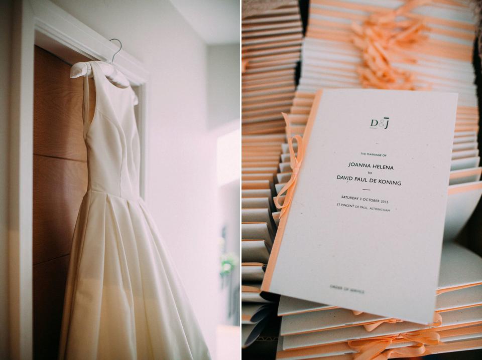 A Caroline Castigliano Dress With Pockets for a Peach And Navy Country House Wedding (Weddings )