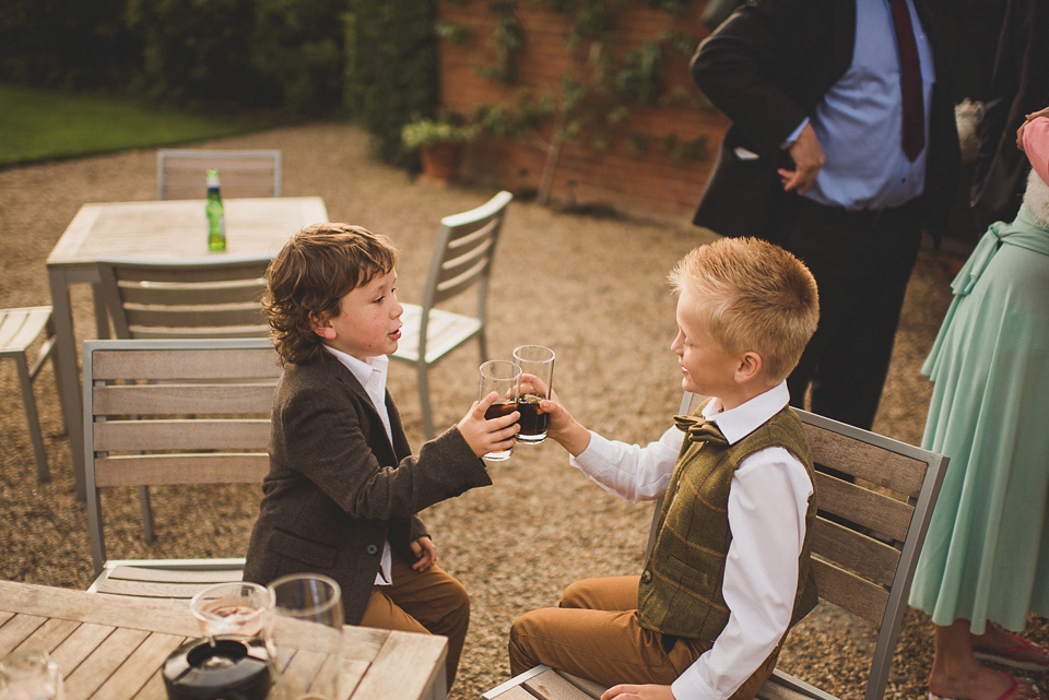 A Bright and Colourful English Country Wedding Held in the Open Air (Weddings )
