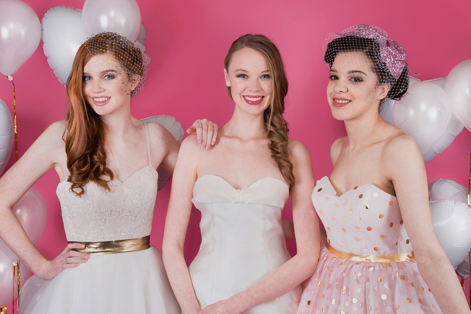 Oh My! The New 1950's Inspired Collection of Wedding Dresses From Oh My Honey