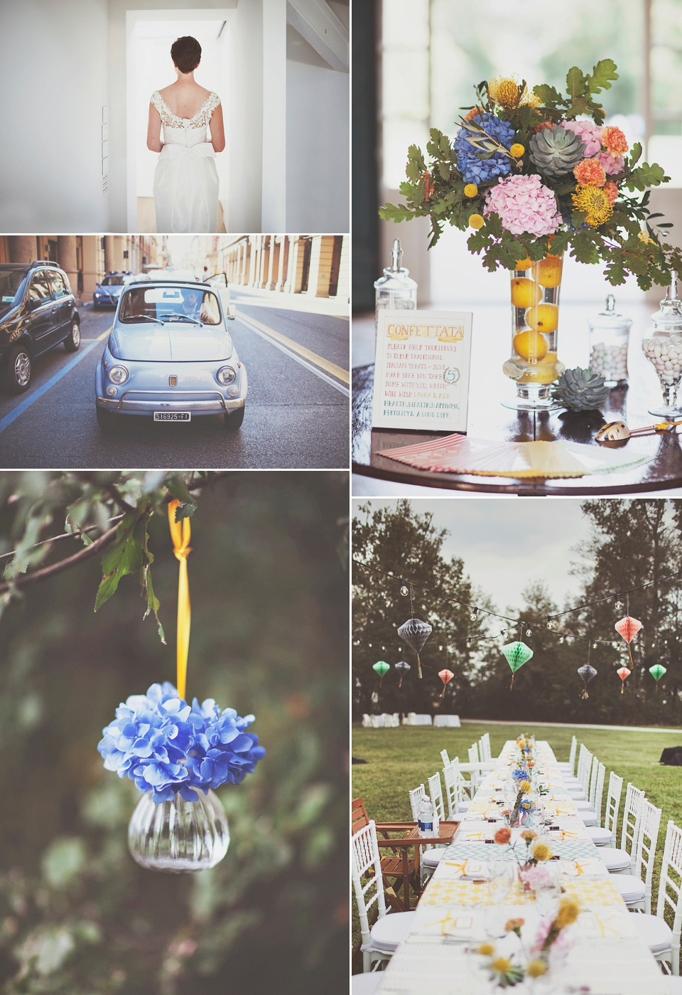 A 1960's and Film Inspired Intimate Italian Wedding (Weddings )