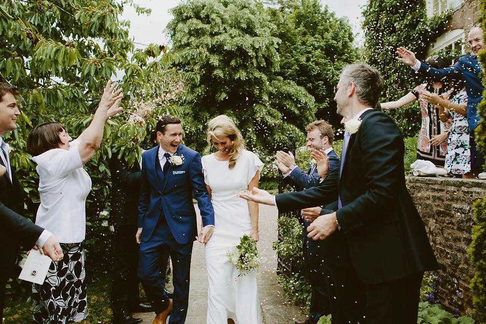 David Fielden Elegance For A Green and White Country Garden Wedding