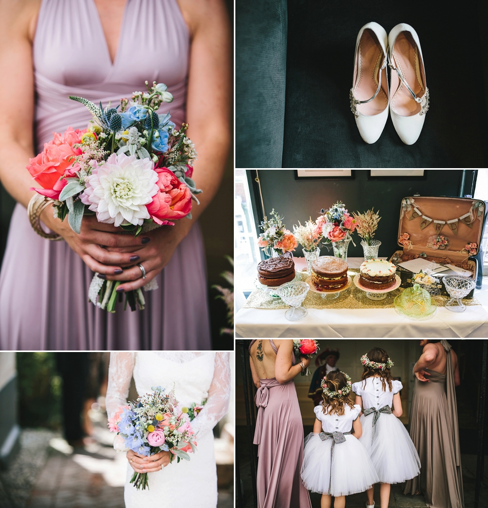 Ivy & Aster Lace And Emmy London Elegance For A Vintage Inspired Foodie Wedding in Rye (Weddings )
