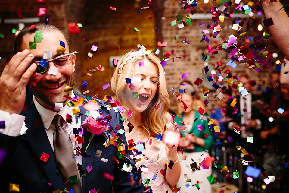 A Bright and Colourful Art And Science Inspired Wedding at RSA House in London