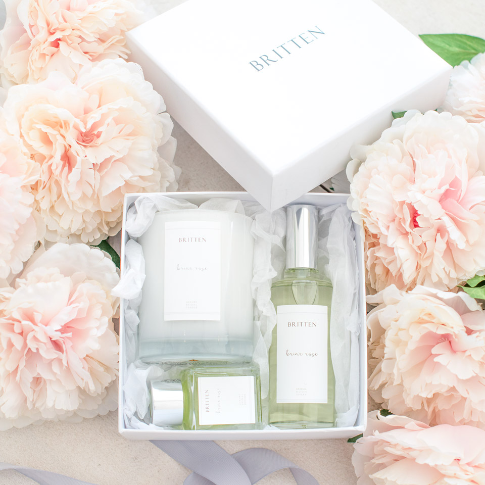 A New Bridal Room Scent Collection & New Veil Designs From Britten + A Special Treat/Saving For Readers