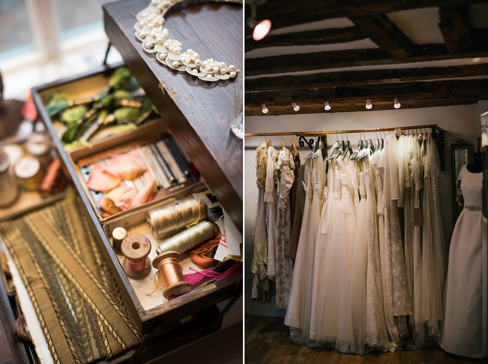 Andrea Bambridge Bridal Boutique of York - Celebrating 700 Years of 'Our Lady's Row' (Bridal Fashion Fashion & Beauty )