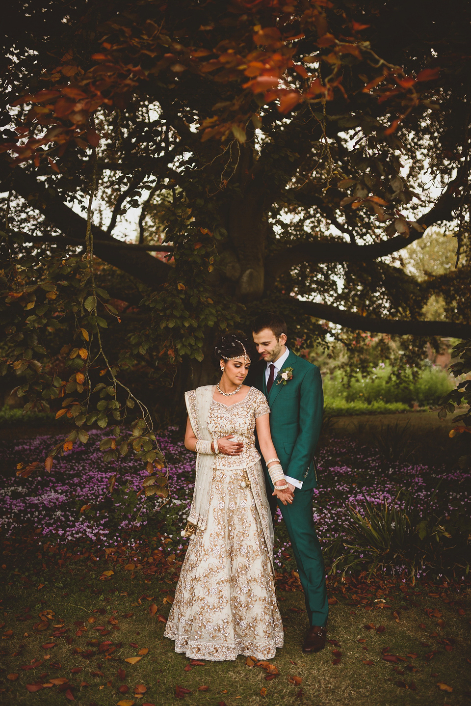 An Autumnal Anglo-Indian Fusion Wedding in the Cotswolds