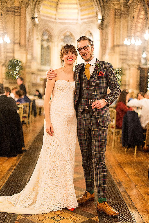 Designer Cherry Williams' Foliage-Filled Architecturally Inspired Festive Wedding