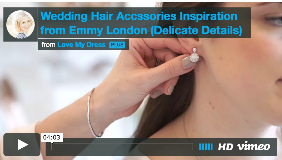 Emmy London Hair Accessories Tutorial: Delicate Details