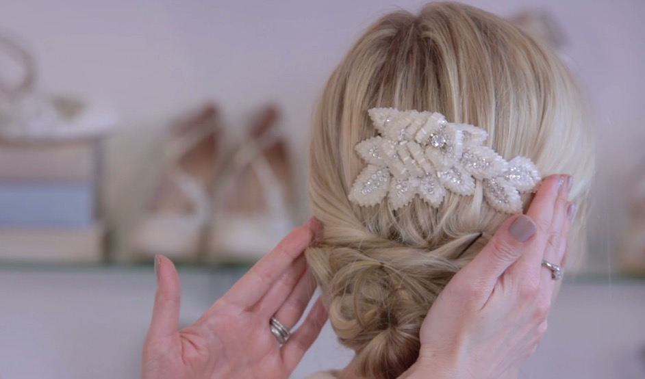 Emmy London Hair Accessories Tutorial: Signature Vintage Rose