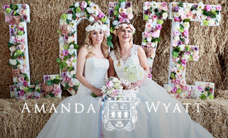 Laure de Sagazan and Delphine Manivet for a A History Inspired Wedding at The Asylum (Weddings )