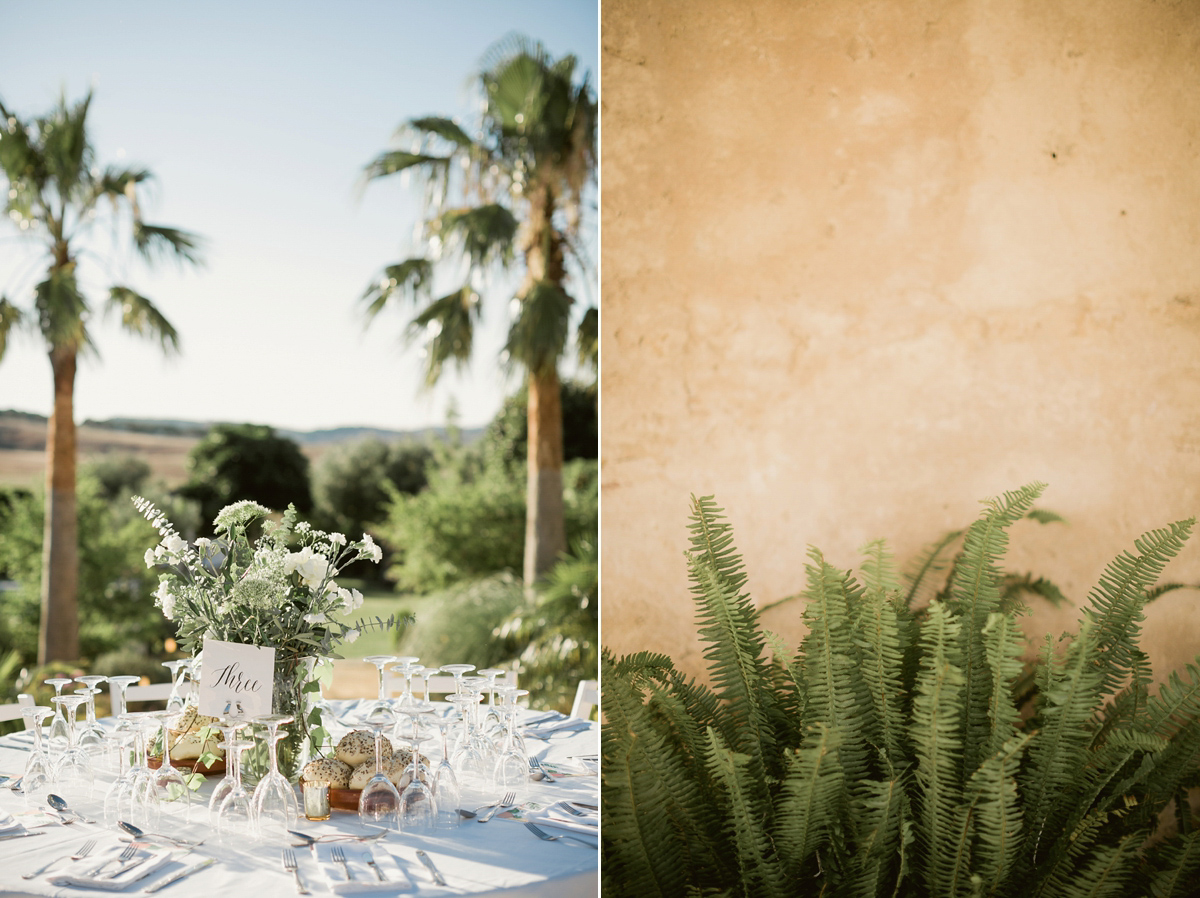 A Gold Slip Dress For A Sun Soaked, Atmospheric Party Wedding in Spain (Weddings )