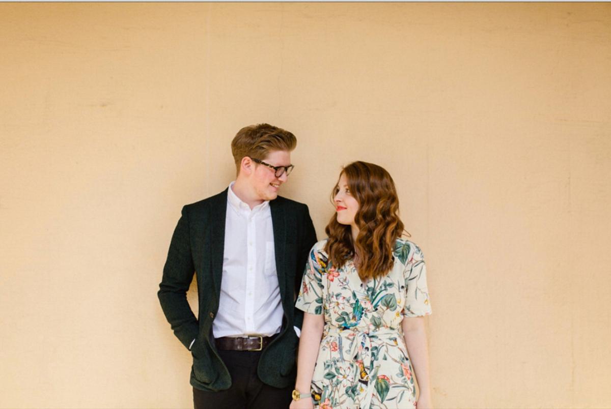Abby and Matthews proposal story.
