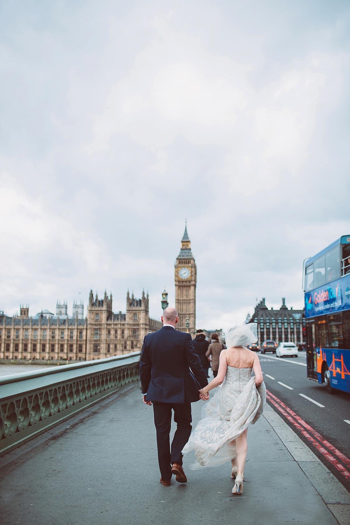 Justin Alexander Elegance For An East London Winter Wedding