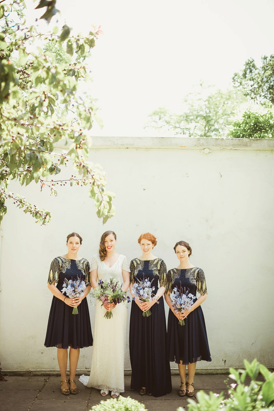 Eliza Jane Howell Elegance and Virgos Lounge Bridesmaids For A Whimsical Summer Wedding (Weddings )