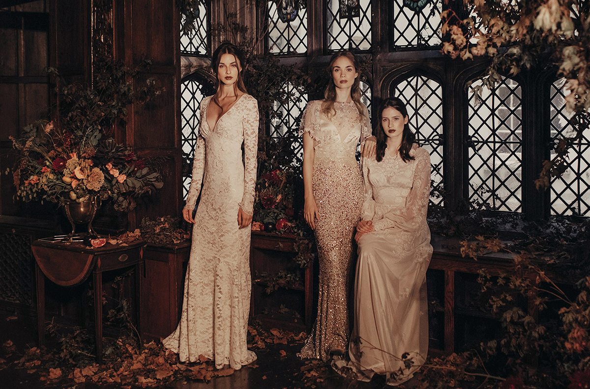 'The Four Seasons' – The 2017 Couture Bridal Collection from Claire Pettibone