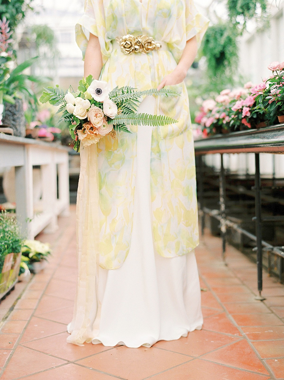 Leafy Green and Gold, Soft and Feminine, Elegant and Luxe Inspiration for Brides
