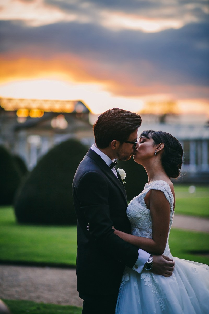 Pronovias Elegance for a Glamorous Multicultural Wedding at Syon Park in London
