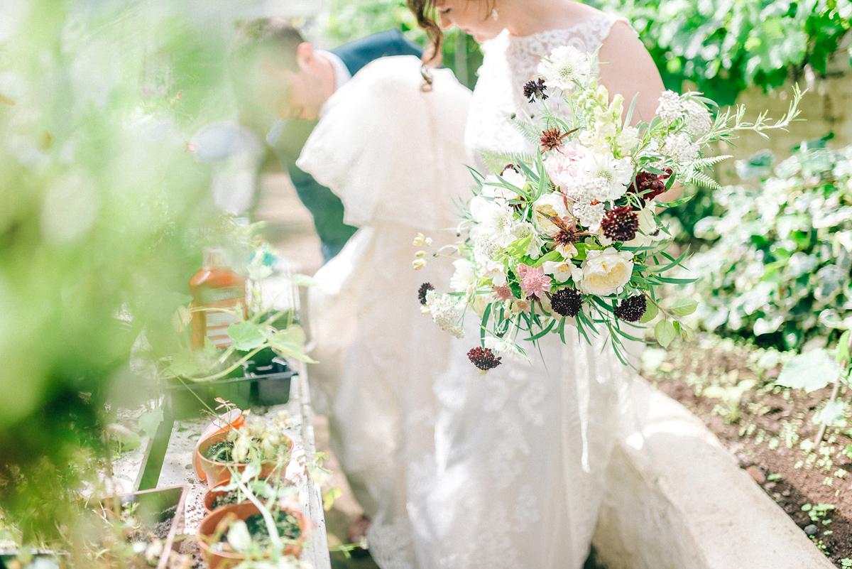 An Elegant Victorian Glasshouse Wedding