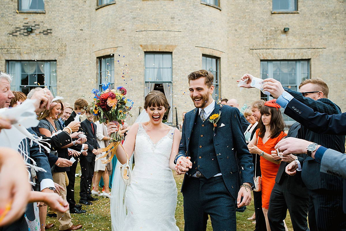 A Colourful Country House Wedding in September