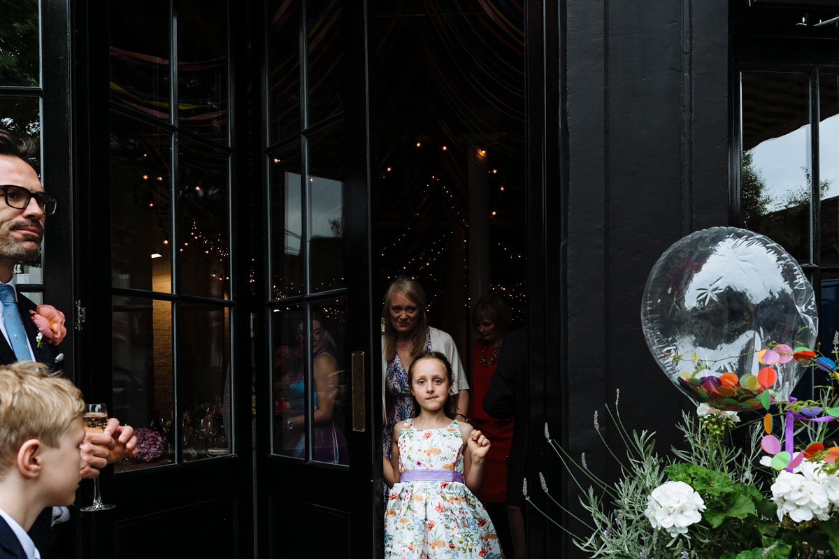 An Emilia Wickstead Gown for a Cool and Colourful, Party Inspired Wedding (Films Weddings )