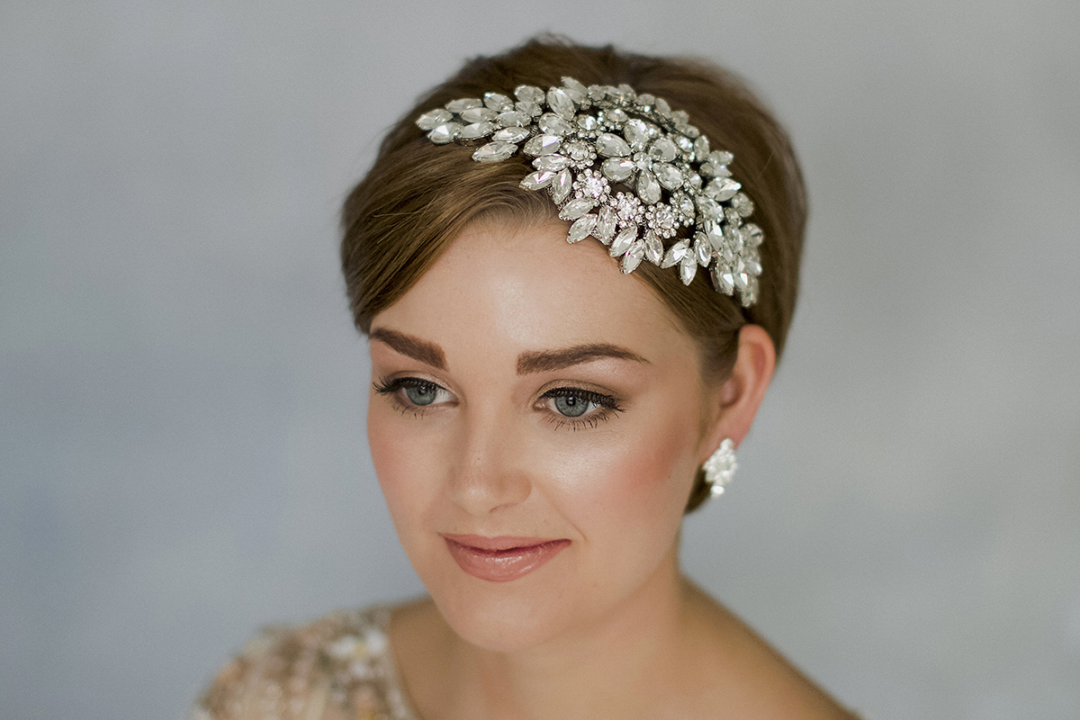 style wedding hair accessories