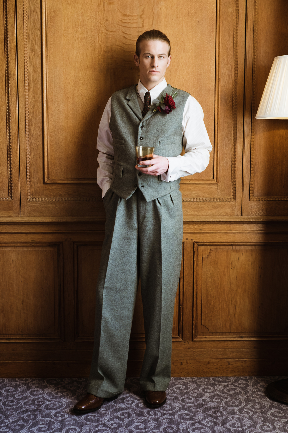 Vintage Inspired Suits 114