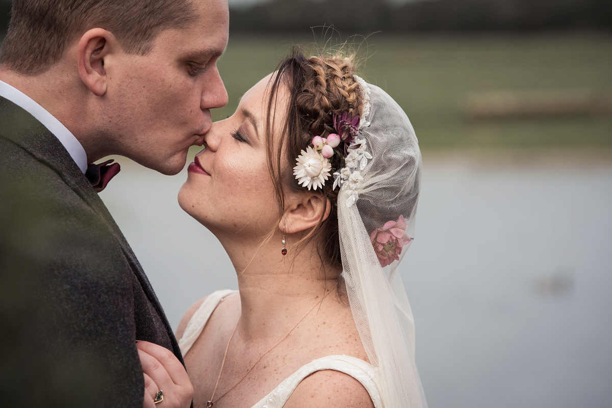 1920's Style Charlie Brear Elegance for a Charming, Nature Inspired Autumn Wedding (Weddings )
