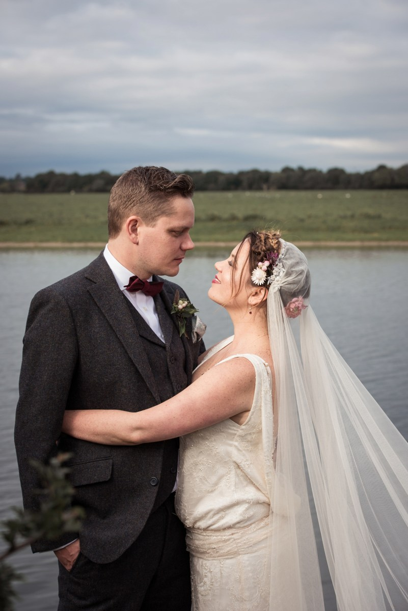 1920's Style Charlie Brear Elegance for a Charming, Nature Inspired Autumn Wedding