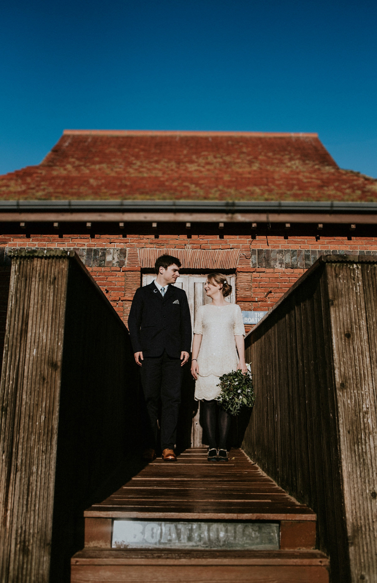 A 1920's Vintage dress for an Intimate Wedding in Whitby (Weddings )