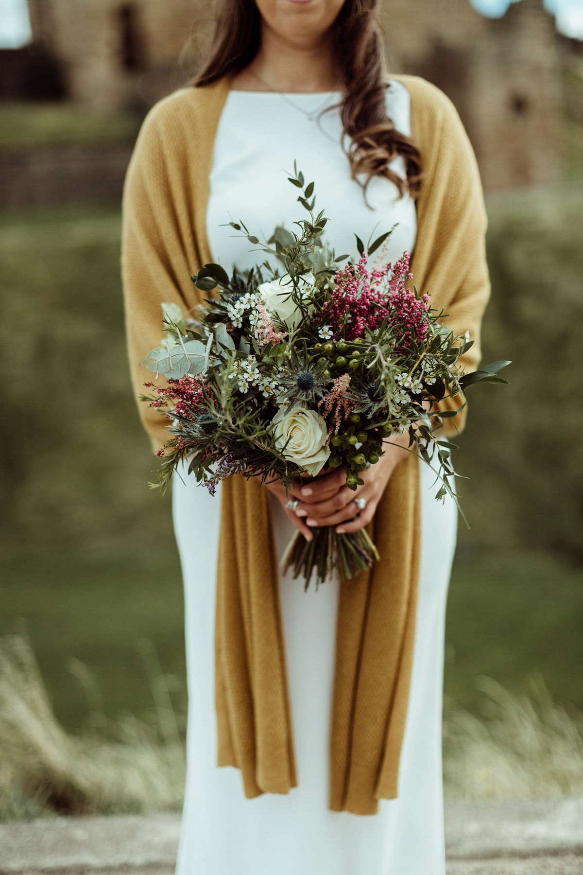 A Bride in Boots and Charlie Brear Gown for an Intimate Wedding in the Great Outdoors (Weddings )