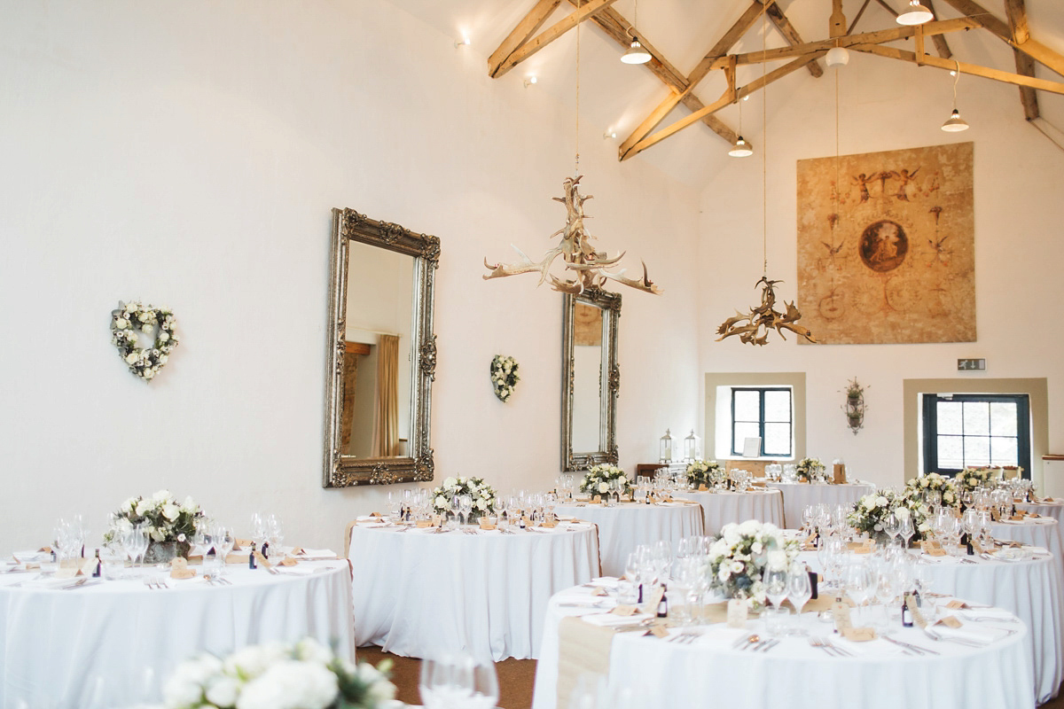 A St Patrick by Pronovias Gown for an Elegant And Rustic Cotswolds Wedding (Weddings )