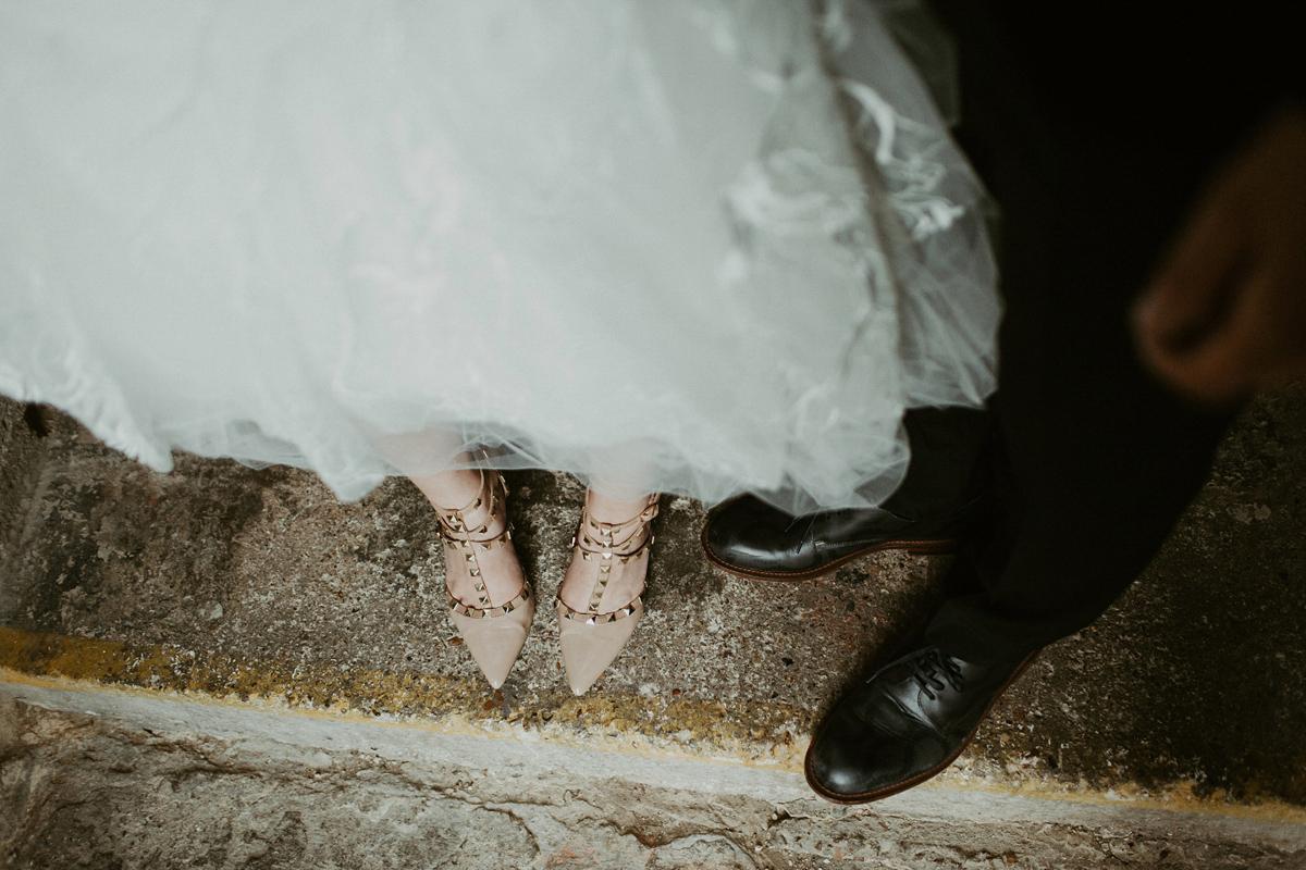 A Stylish Rock'n'Roll Wedding At The Asylum in London (Weddings )