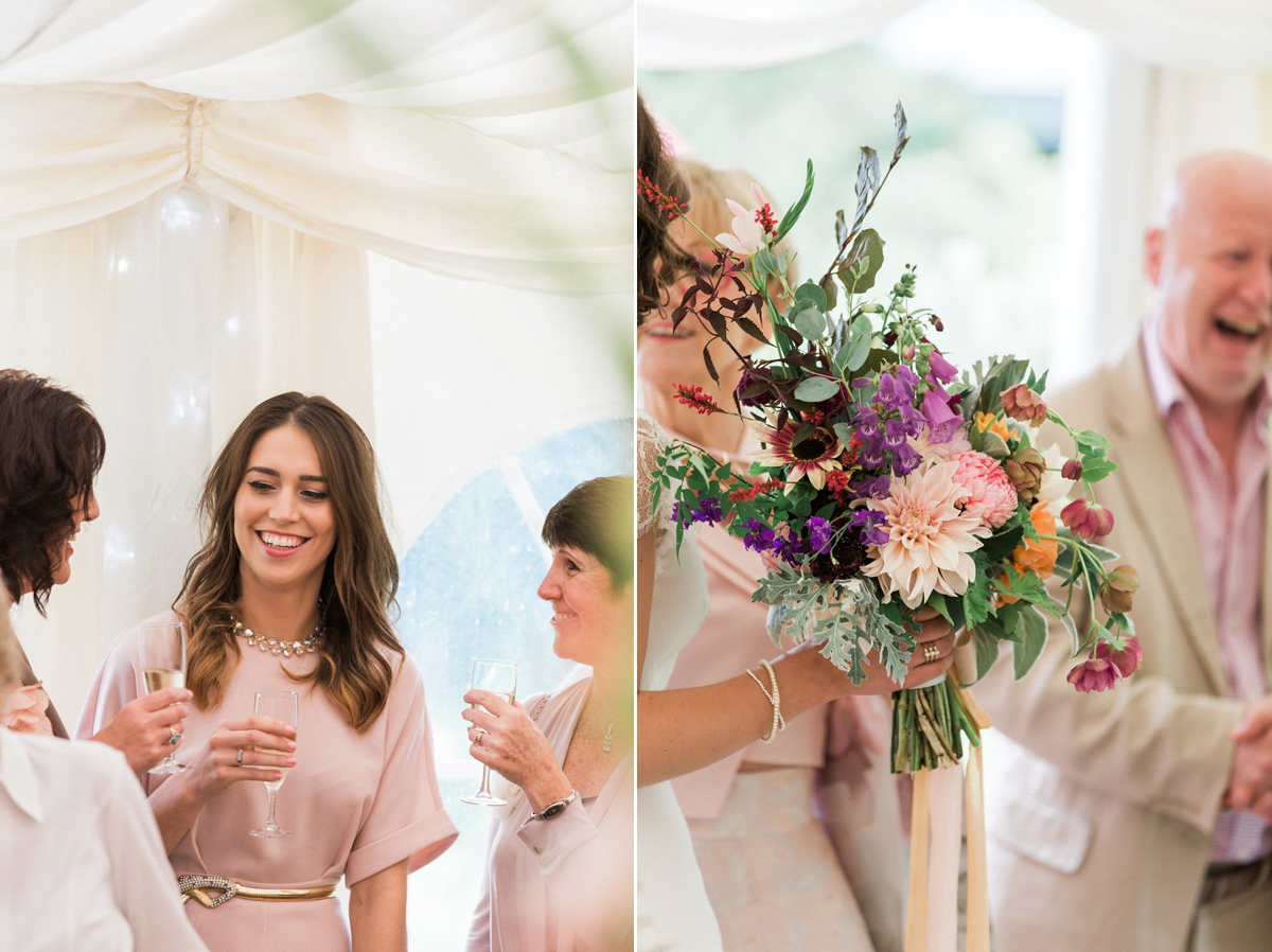 Kobus Dippenaar Silk And Lace For A Rainy Day Country House Wedding (Weddings )