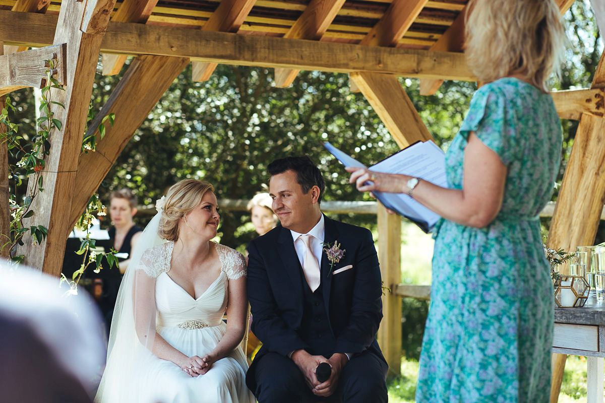 A Suzanne Neville Gown For A Summer Garden Party Inspired Wedding (Weddings )