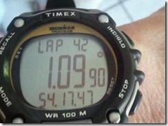 1.2 mile swim watch