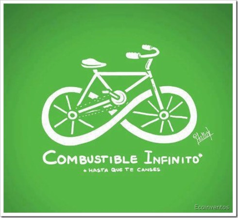 combustible infinito by Ecoinventos