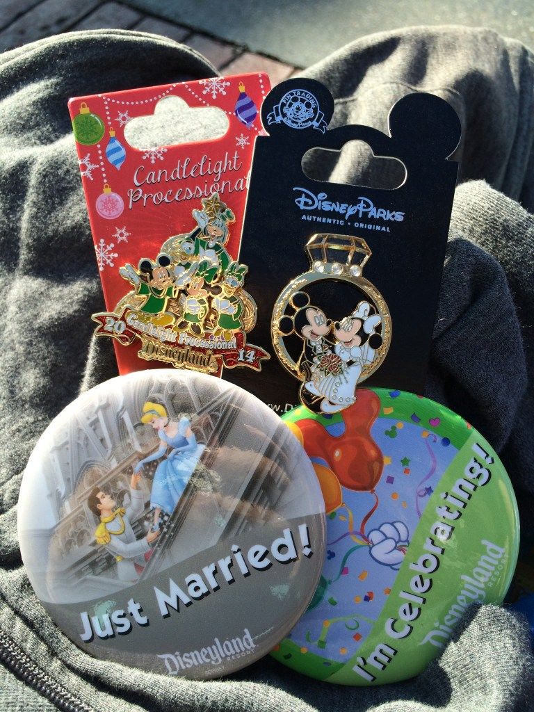 Disney Celebration Buttons