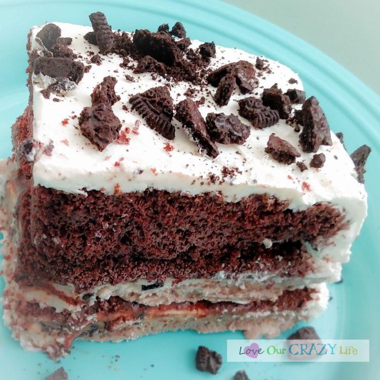 7-Layer Ice Cream Cake Recipe — Dishmaps