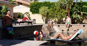 a Palm Springs weekend