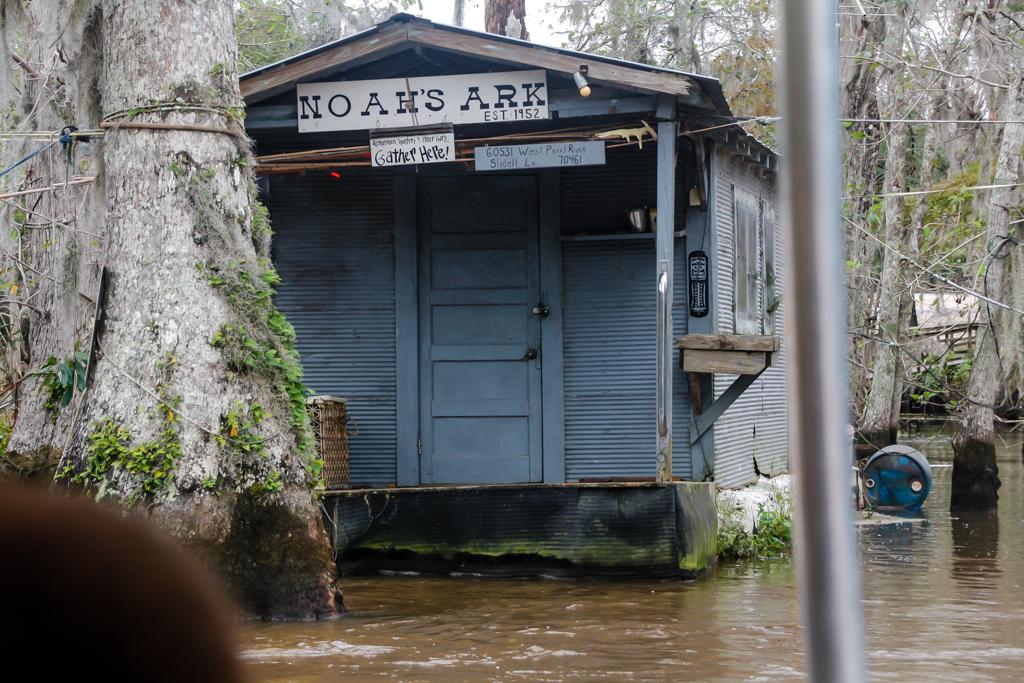 honey island swamp louisiana camps noahs ark