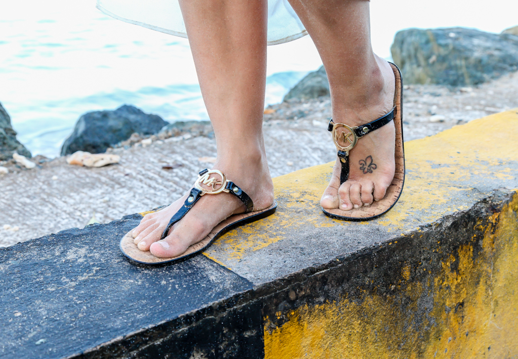 tobago crown point michael kors flats