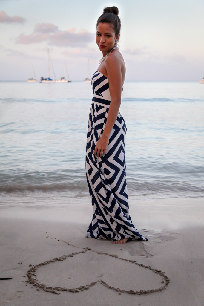tobago-vinyard-vines-dress-beach-sunrise
