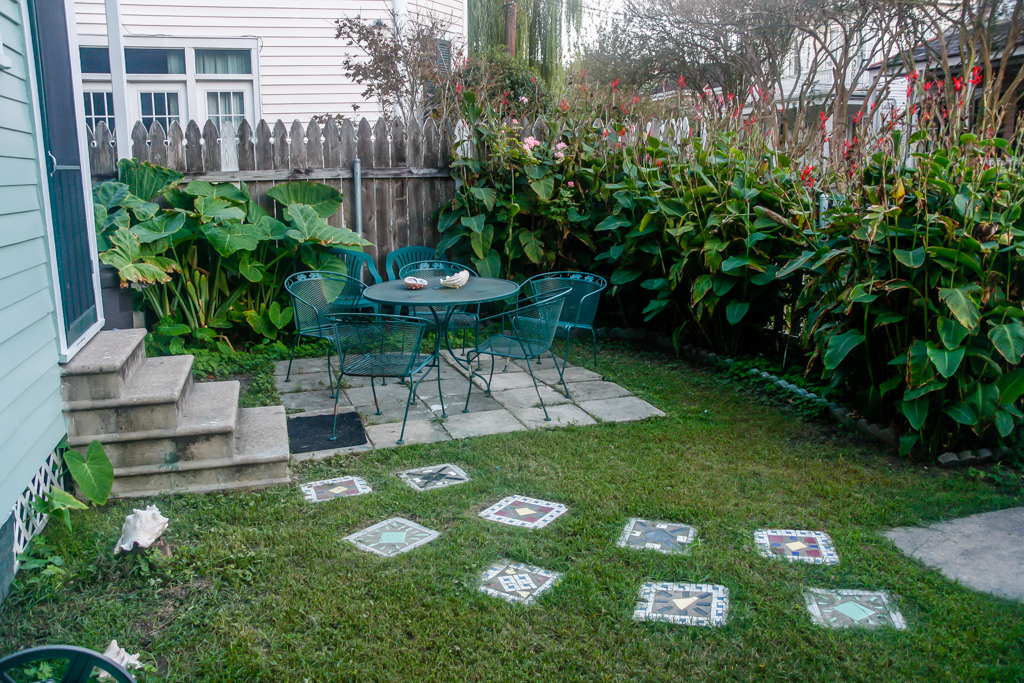 uptown new orleans nola airbnb patio yard