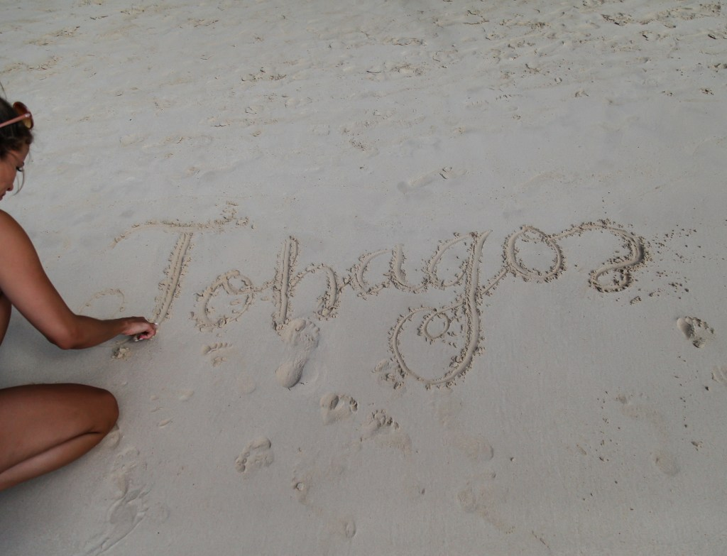 tobago in sand real
