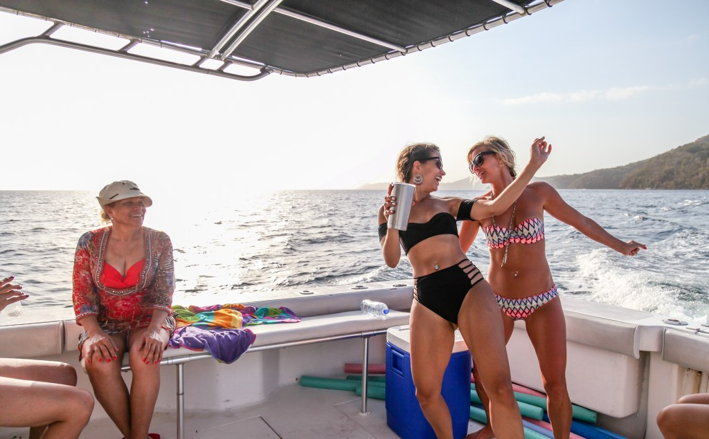 trini private swimsuit cruise charter