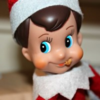 The Elf On Our Shelf~ Day 2 {Who Doesn't Love Cookie Butter?}